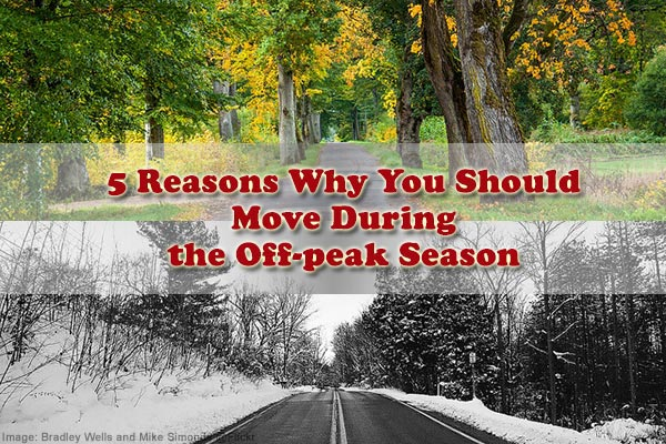 Why should you move during the off-peak season?