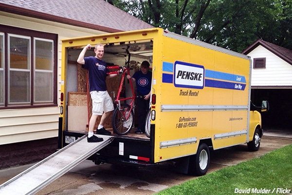 What is the moving truck rental cost?