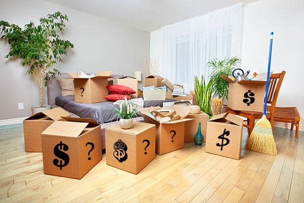 How to estimate the cost of packing for a move?