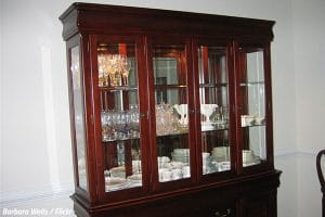 How to pack a china cabinet when moving house