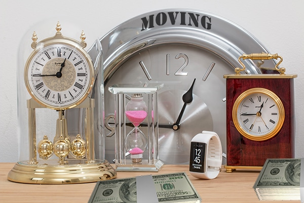 There are proven ways to avoid last-minute moving costs.