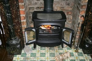 How to move a wood stove by yourself