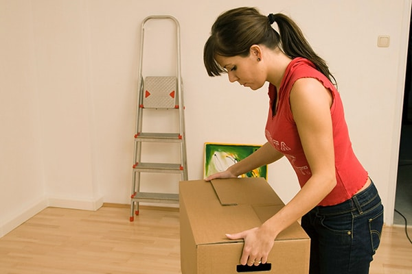 Which room to pack first when moving
