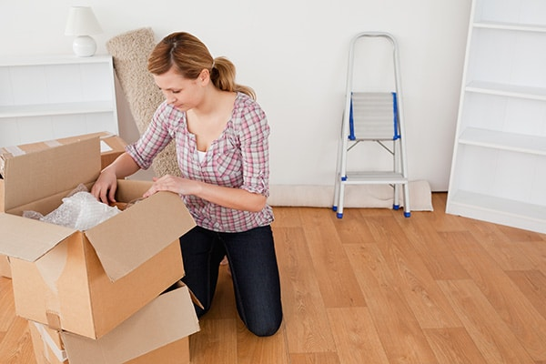 How to pack quickly for a move