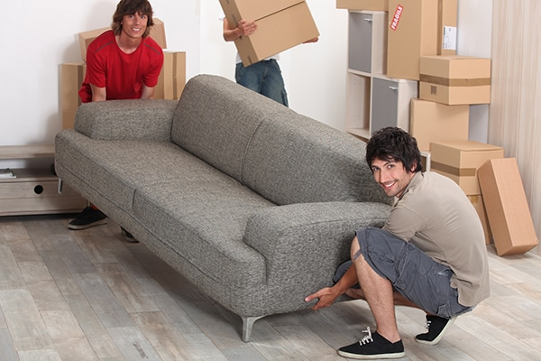 How To Move Furniture For New Carpet