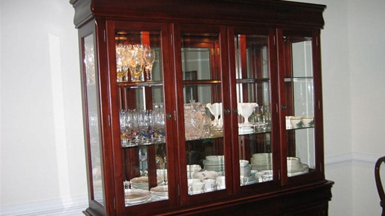 How To Pack A China Cabinet For Moving