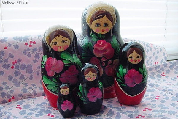 The Russian doll packing method.