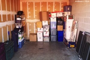 How to pack a storage unit when moving home