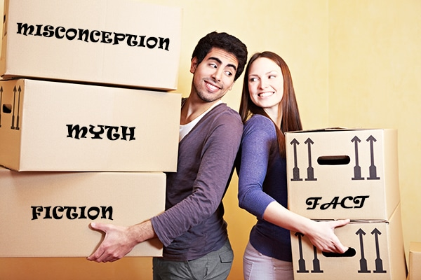 Some moving myths may result in major moving mistakes.