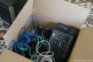 How to pack a computer for moving