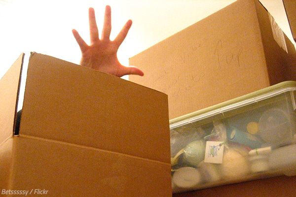 What people forget to pack when moving home