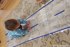 What to do with bubble wrap after the move