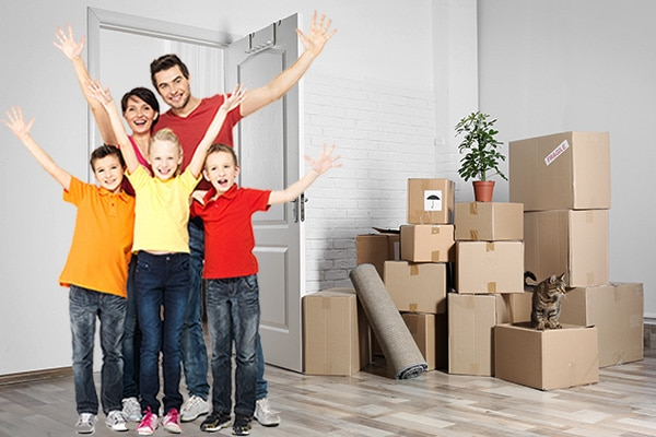 Efficient tips for moving with a large family.
