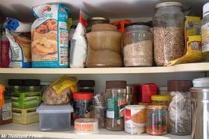 What to do with food when moving