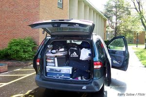 How to pack a car for a move