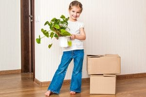 How children can help when moving house
