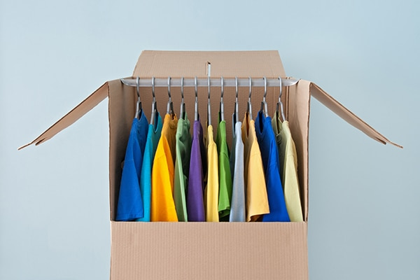 What specialty boxes do you need when packing for a move?