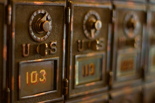 How to set a Post Office box when moving