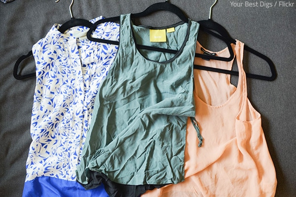 How to keep your clothes from wrinkling
