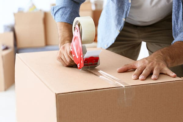 Make sure you know how to tape moving boxes the right way.