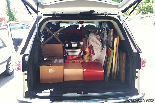 Tips for moving with own car